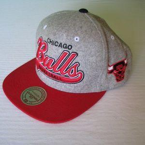 Hardwood Classics Chicago Bulls Strep-Back Hat